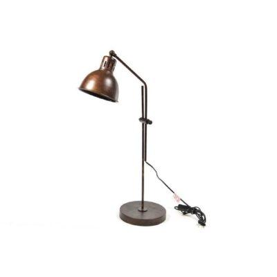 """LAMPADA DA TAVOLO """"VINTAGE"""" IN METALLO CON BASE 35"""