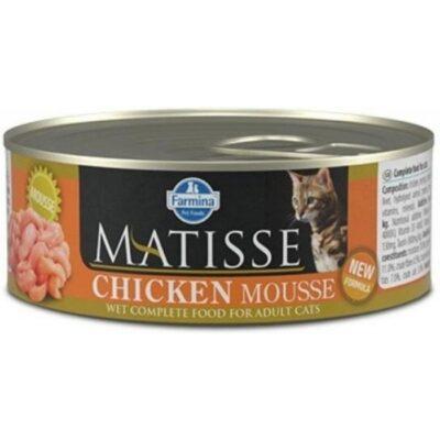 MATISSE CHICKEN MOUSSE GR.85 NEW