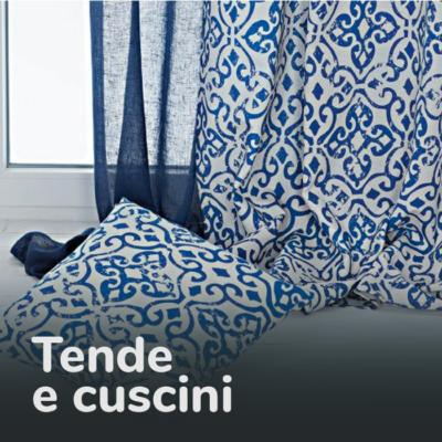 TENDE CUSCINI E ACCESSORI