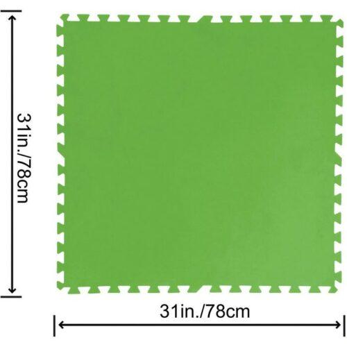 FLOWERCLEAR TAPPETINO BASE PER PISCINA 78cm x 78cm