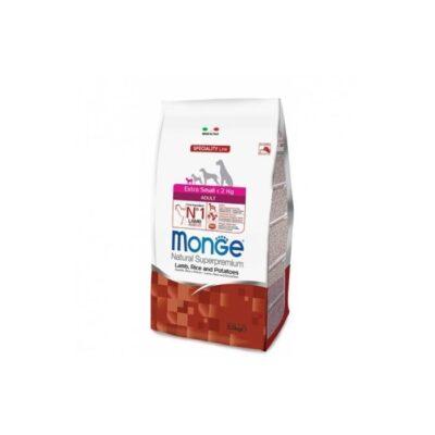 MONGE EXTRA SMALL ADULT AGNELLO, RISO & PATATE