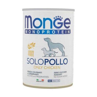 MONGE MONOPROTEICO 100% GR.400
