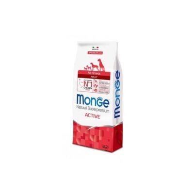 MONGE ALL BREEDS ADULT ACTIVE POLLO KG.12
