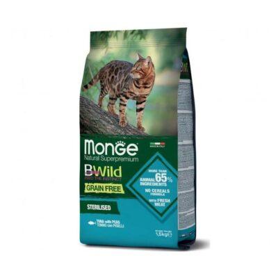 MONGE BW GF CAT STERIL TON/PIS KG.1,5