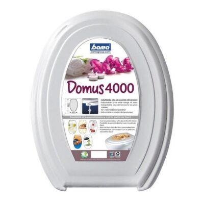 SEDILE WC DOMUS 4000 DIM.36,5X46,5X5H WHITE