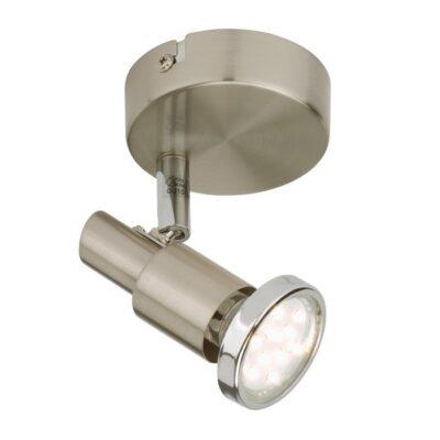 COOL - SPOT 1L X 3W GU10 LED 210LM NICKEL SATINATO
